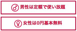 シュガーダディの料金と、他の出会い系サイト(国内・海外)の料金を比較。